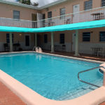 outdoor pool at the Bluewave villa at Hollywood Beach Hotels