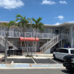 exterior of the Silver Spray villa at Hollywood Beach Hotels