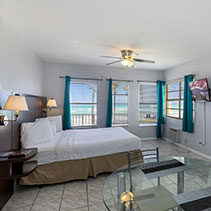 guest room with one bed and ocean view at Hollywood Beach Hotels